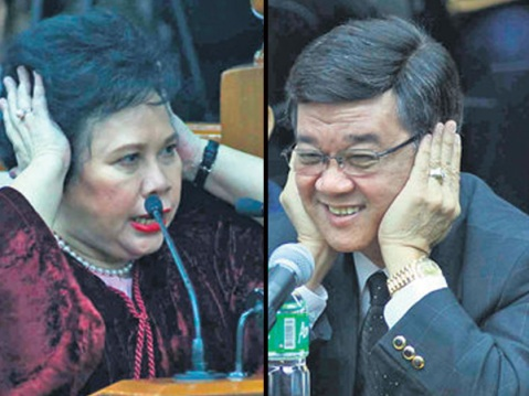 The defense and prosecution were fighting each other constantly in the lawsuit of the Chief Justice, Renato Corona.