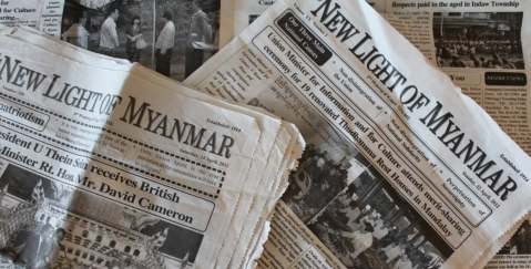 The government owned English newspaper of Myanmar/Burma