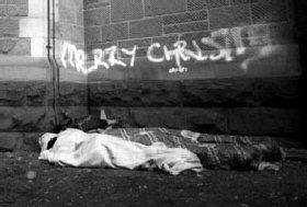 Homeless and Christmas