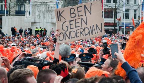 Joanna on Queensday